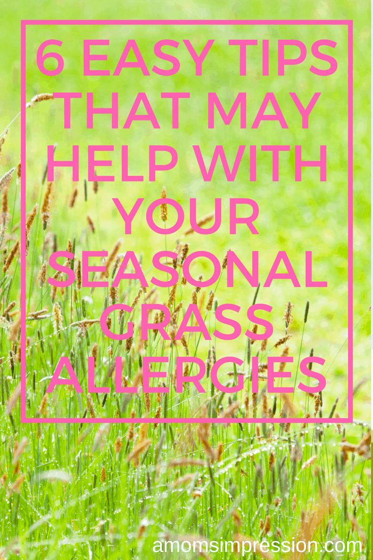 seasonal grass allergy tips