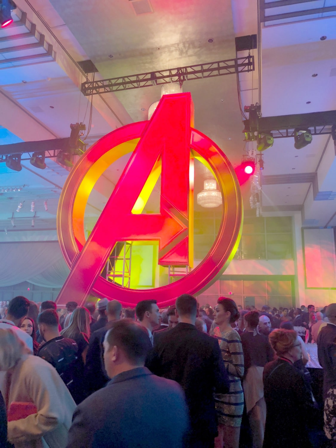The Avengers Infinity War After Party