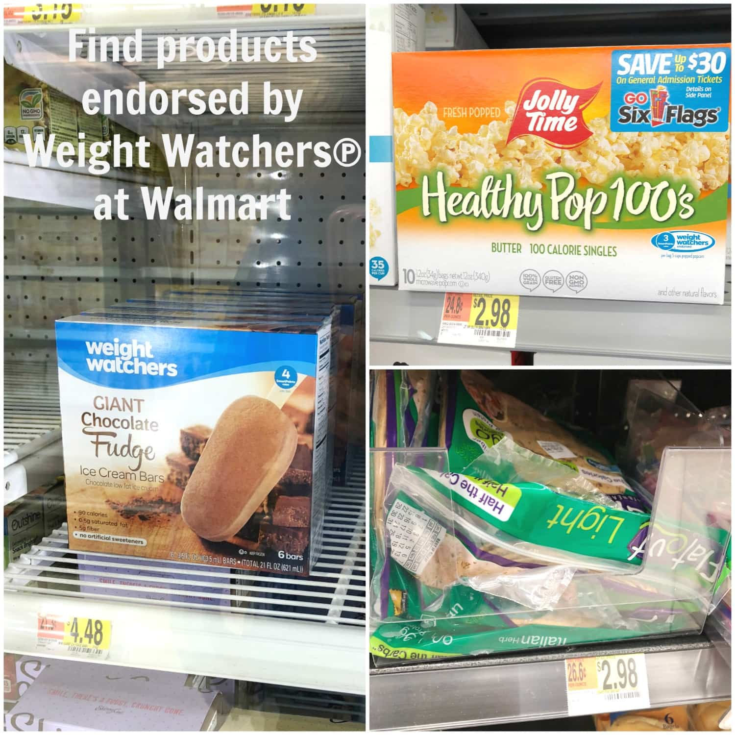 Weight Watchers edorsed products