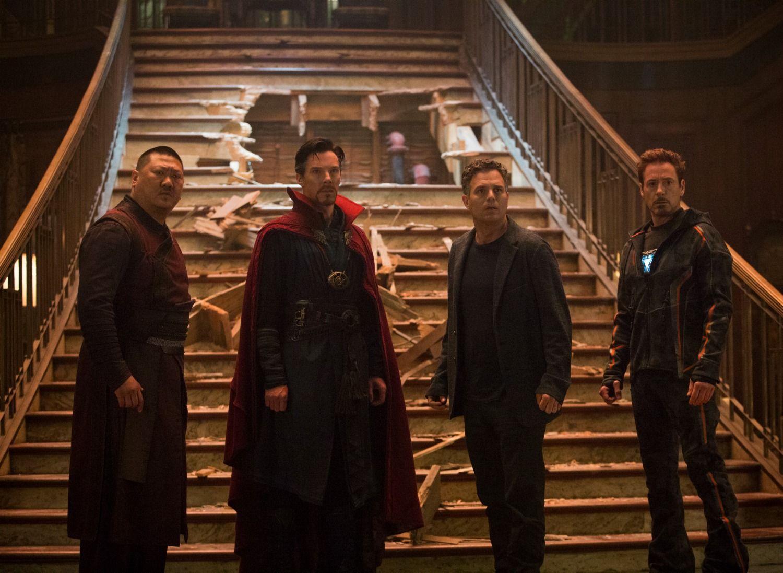 dr strange, hulk, wong, iron man