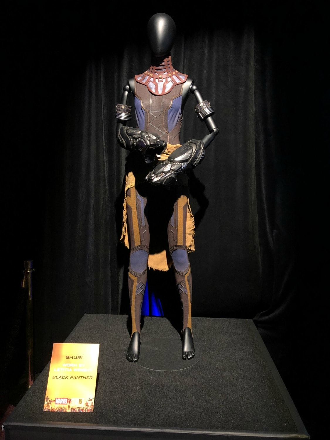 shuri black panther costume