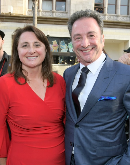 victoria Alonso and Louis D'Esposito