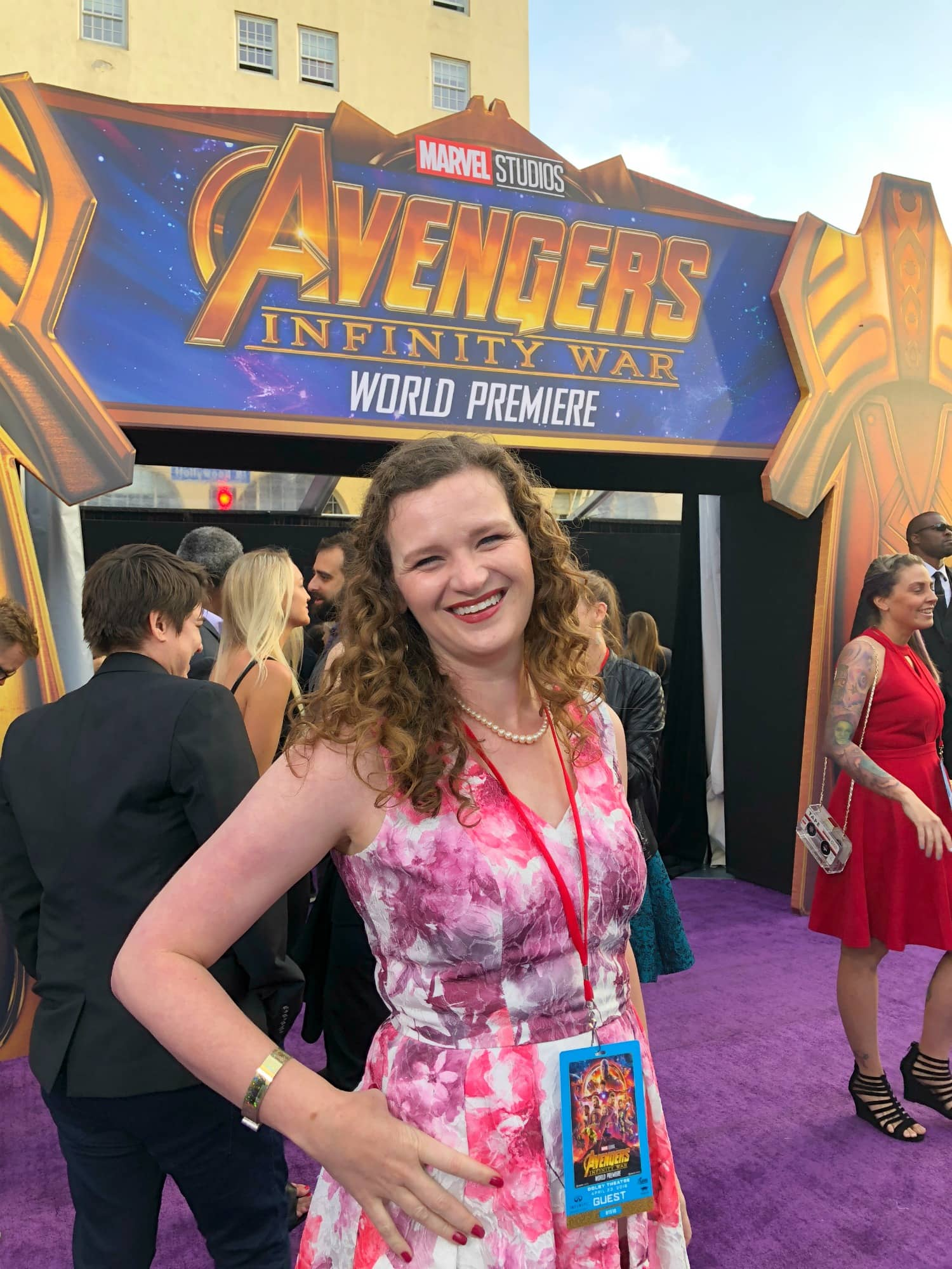 world premiere infinity war
