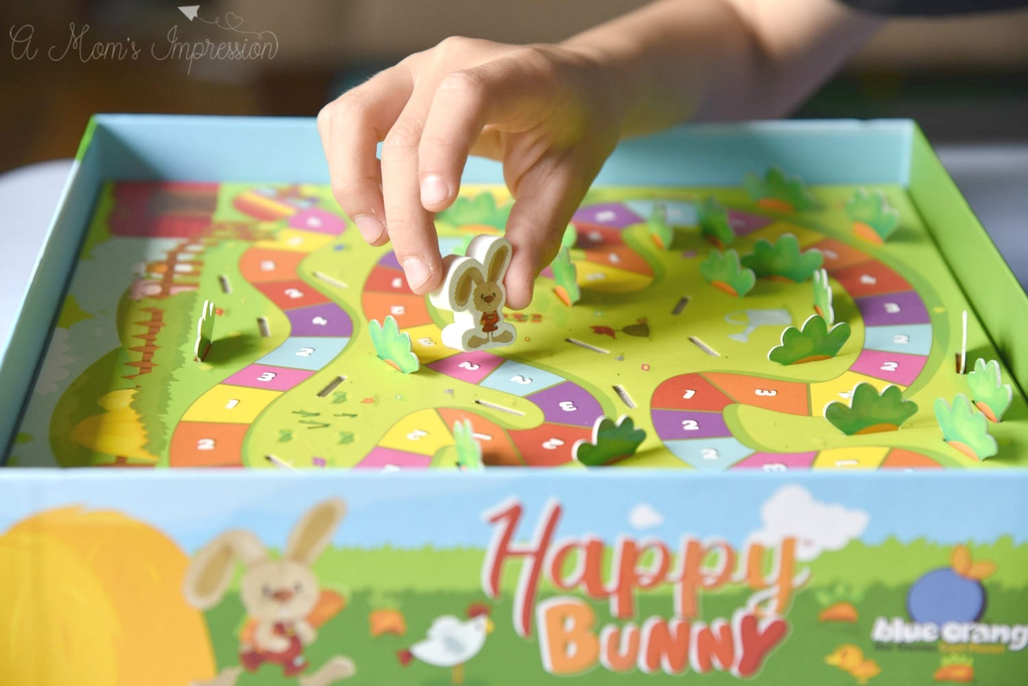 Happy Bunny board games for 3 year olds