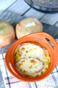 Instant Pot Vegetarian French Onion Soup