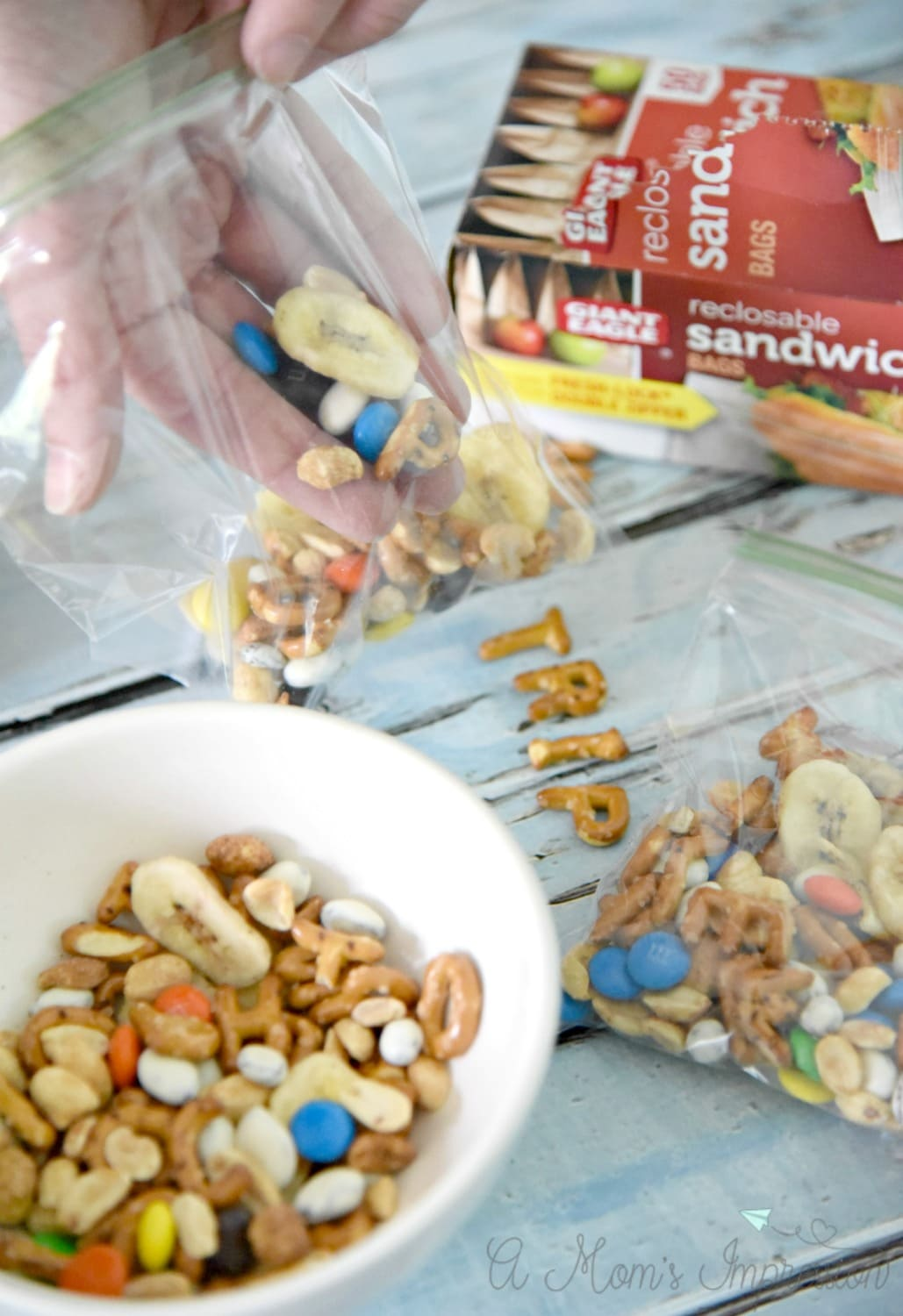 Packing Trail Mix