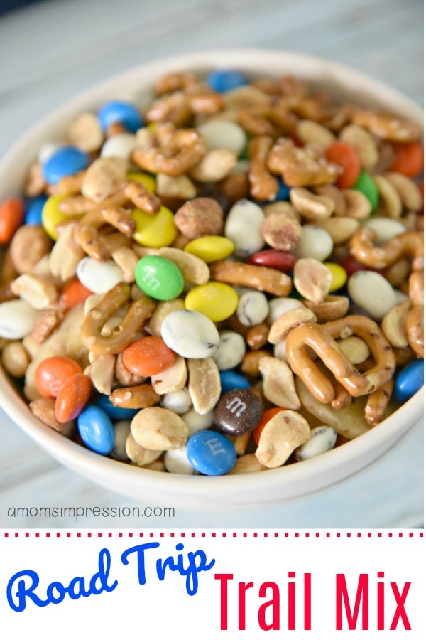 Road Trip kids Trail Mix recipe