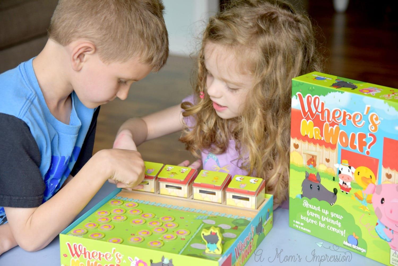 where's mr wolf preschool board game