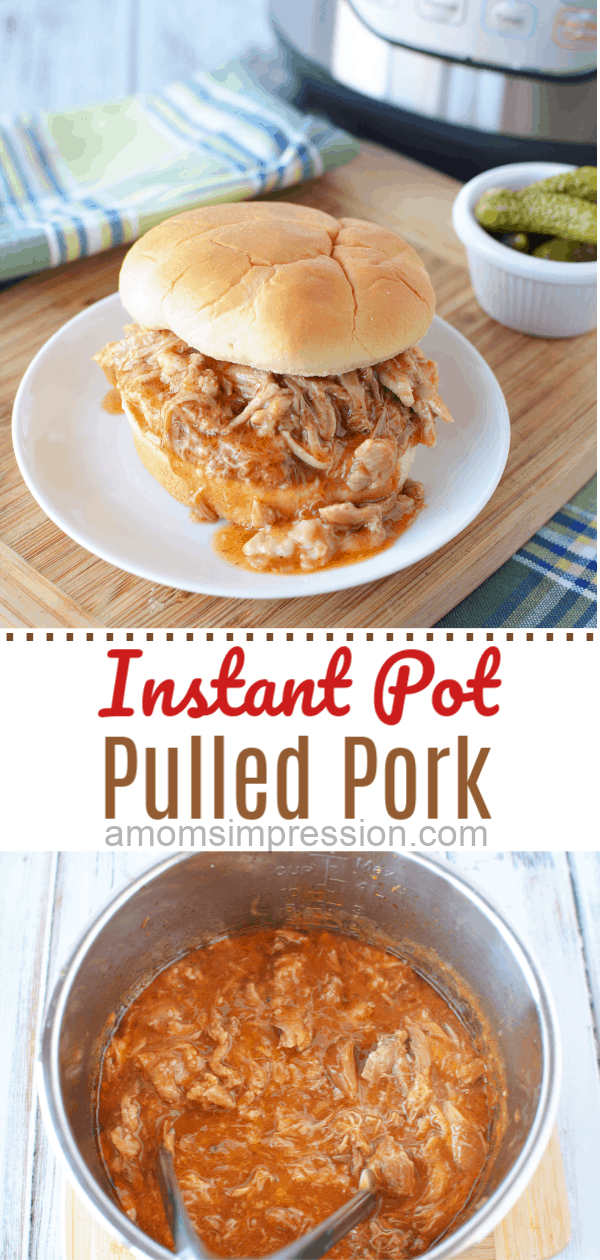 how to cook pulled pork in instant pot