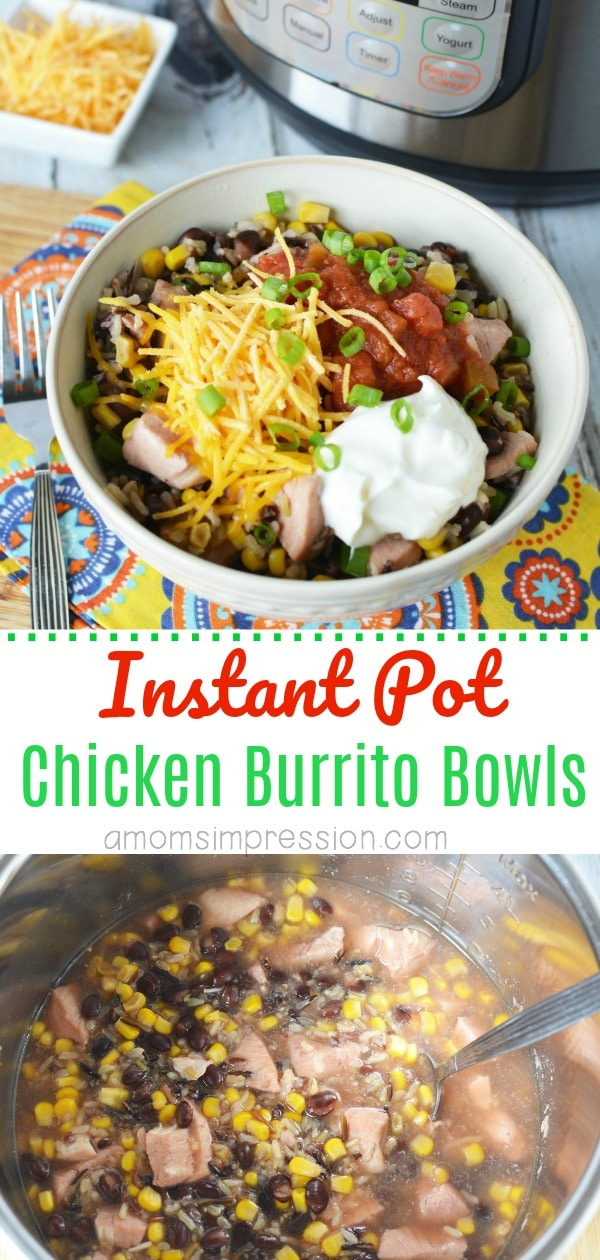 IP chicken Burrito Bowl Pin