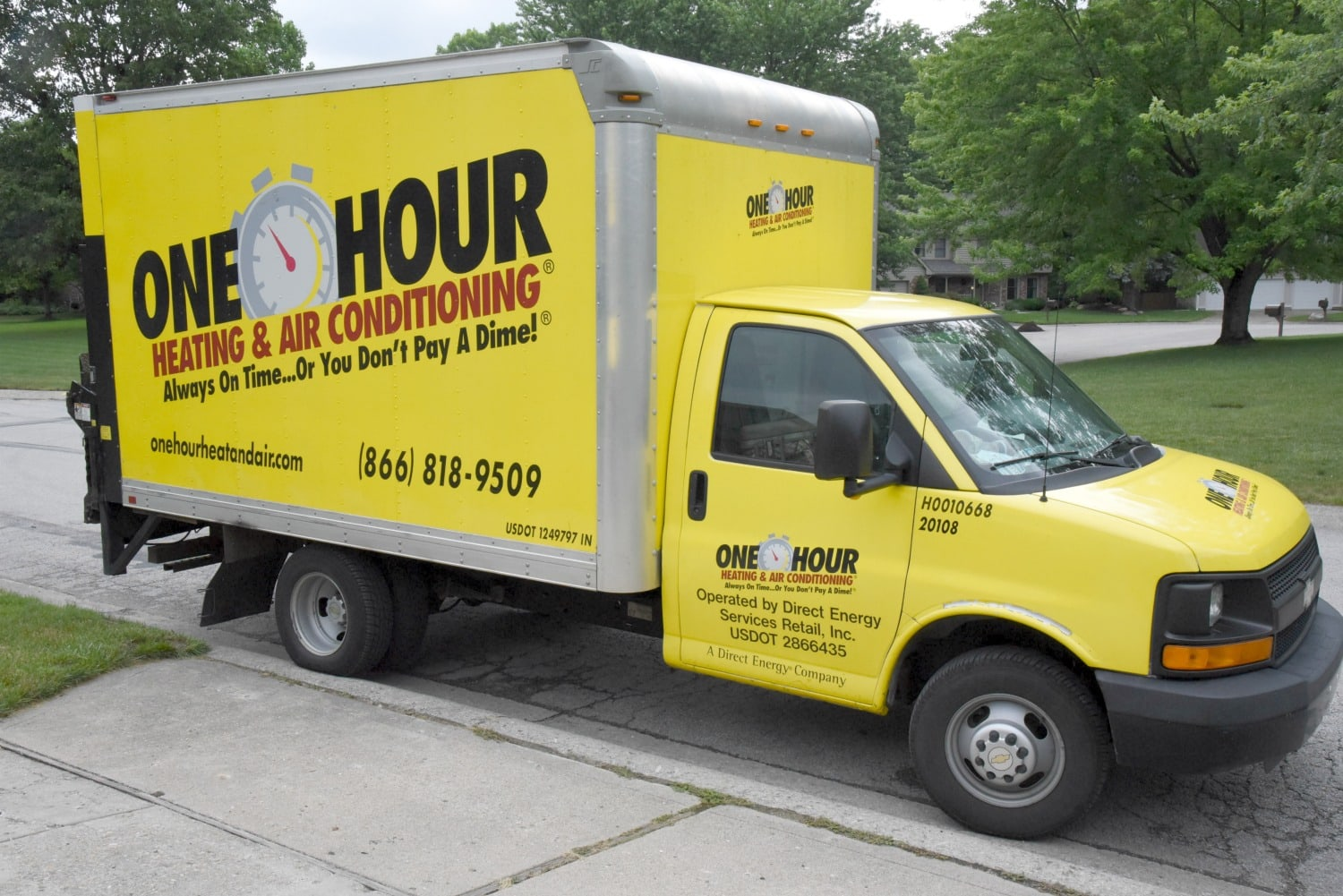 One-Hour heating and air