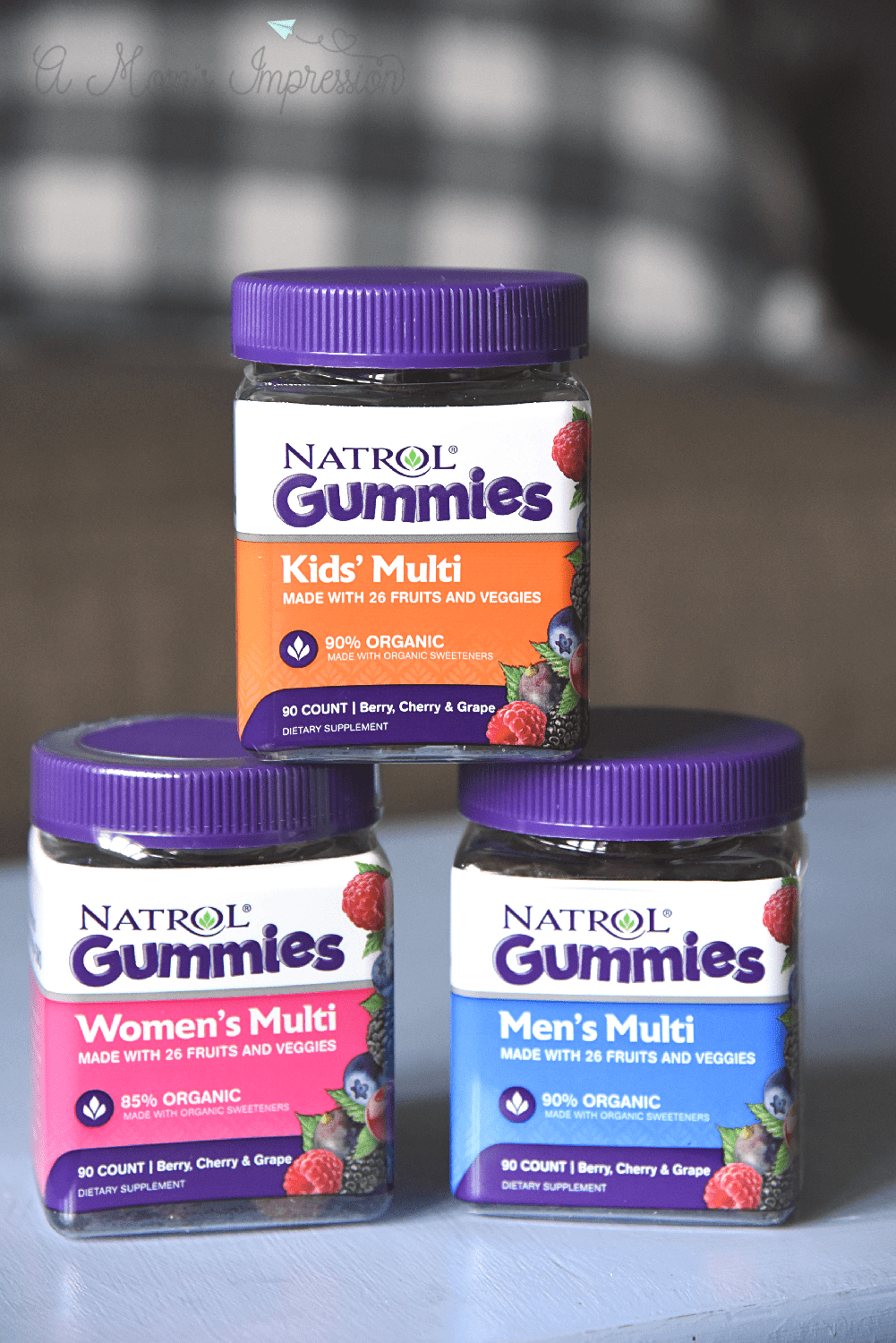 Types of Natrol gummies