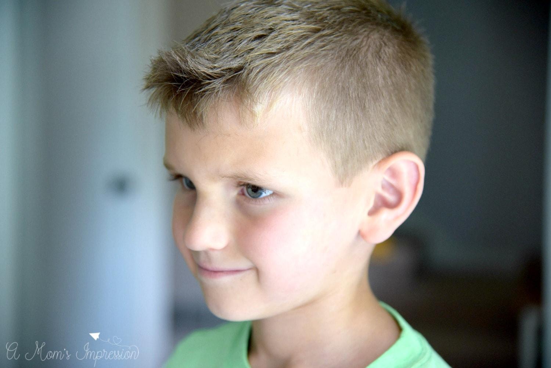 clean cut haircut