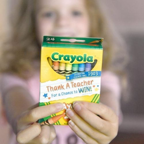 Crayola thank a teacher