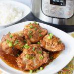 Instant Pot Honey Garlic Chicken – The Best Chicken Thighs