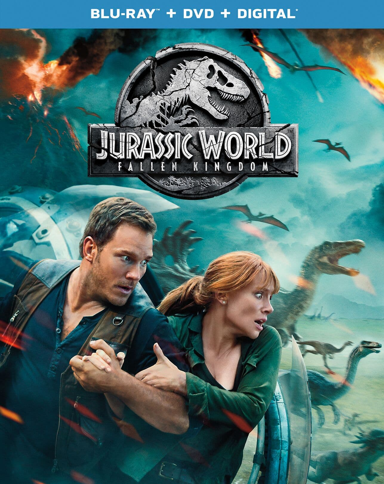 Jurrasic World DVD
