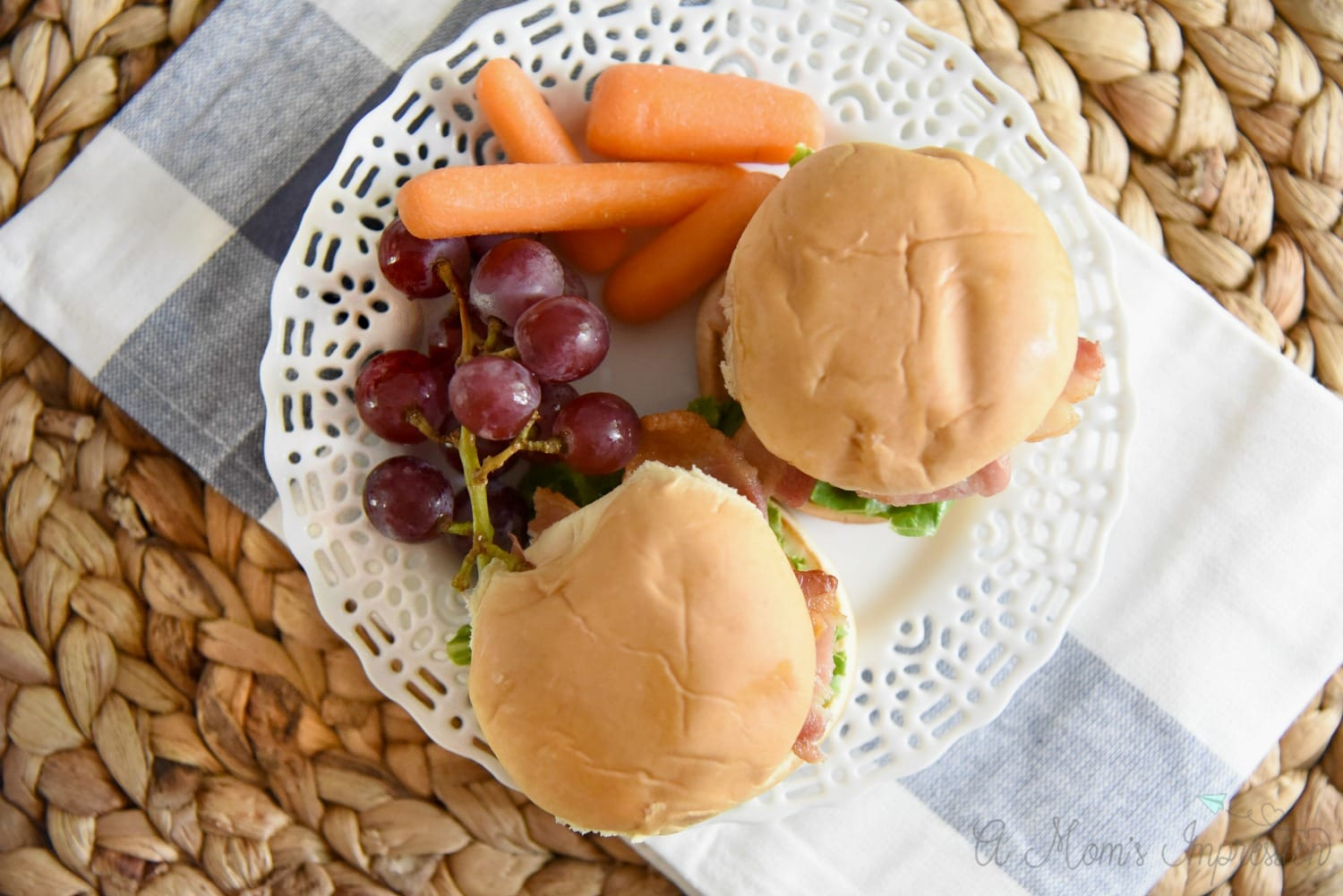 Kids BLT Sliders