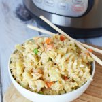 Pressure Cooker Fried Rice