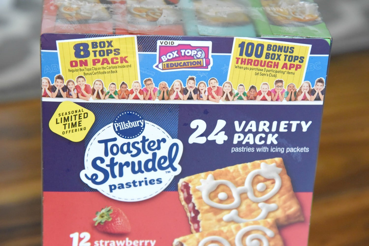 Toaster Strudel Pastries