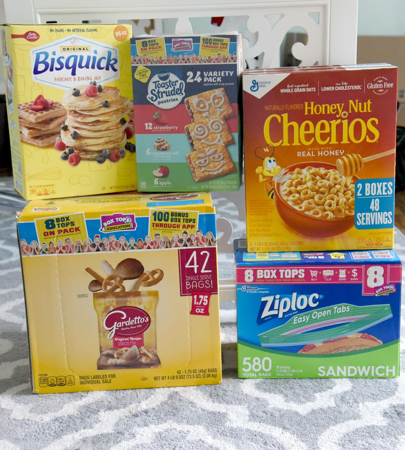 general mills products btfe