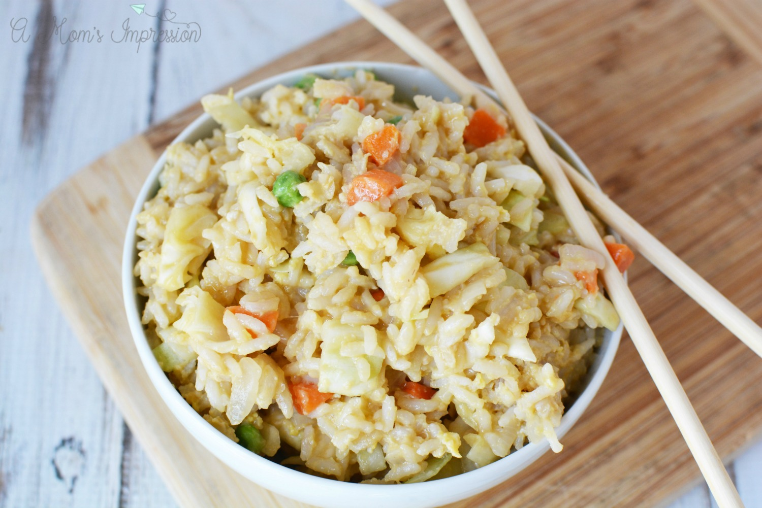 homemade fried rice