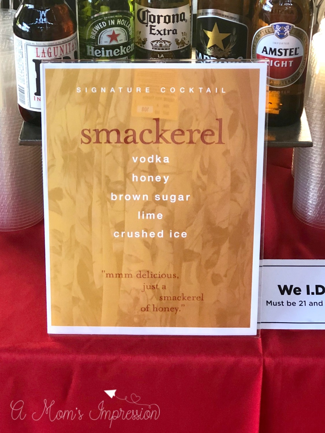smackerel pooh cocktail