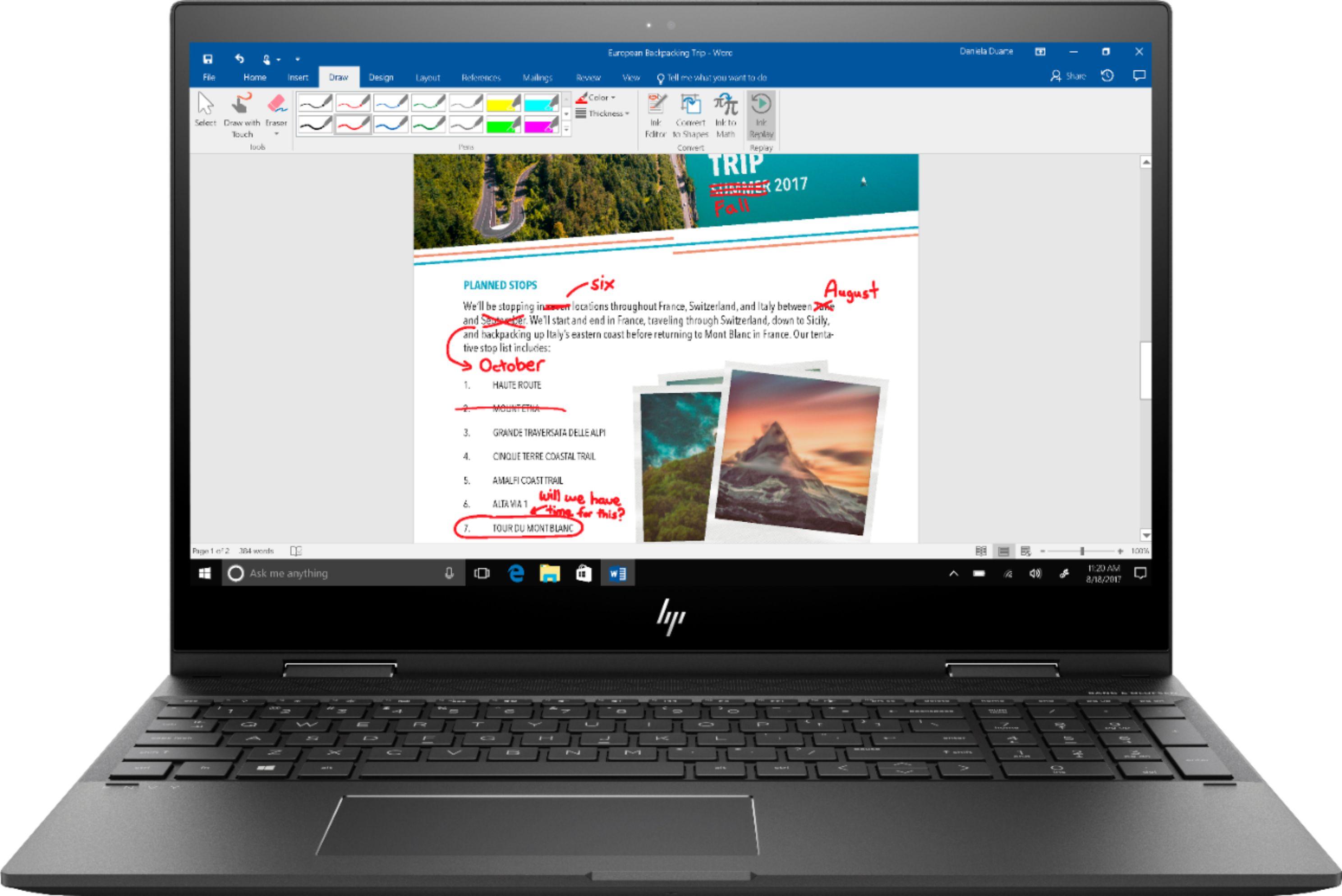 Using the Best Buy 3 in 1 laptop