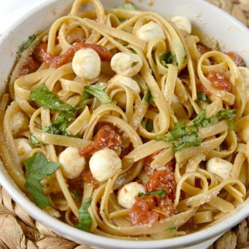 Balsalmic Caprese Pasta