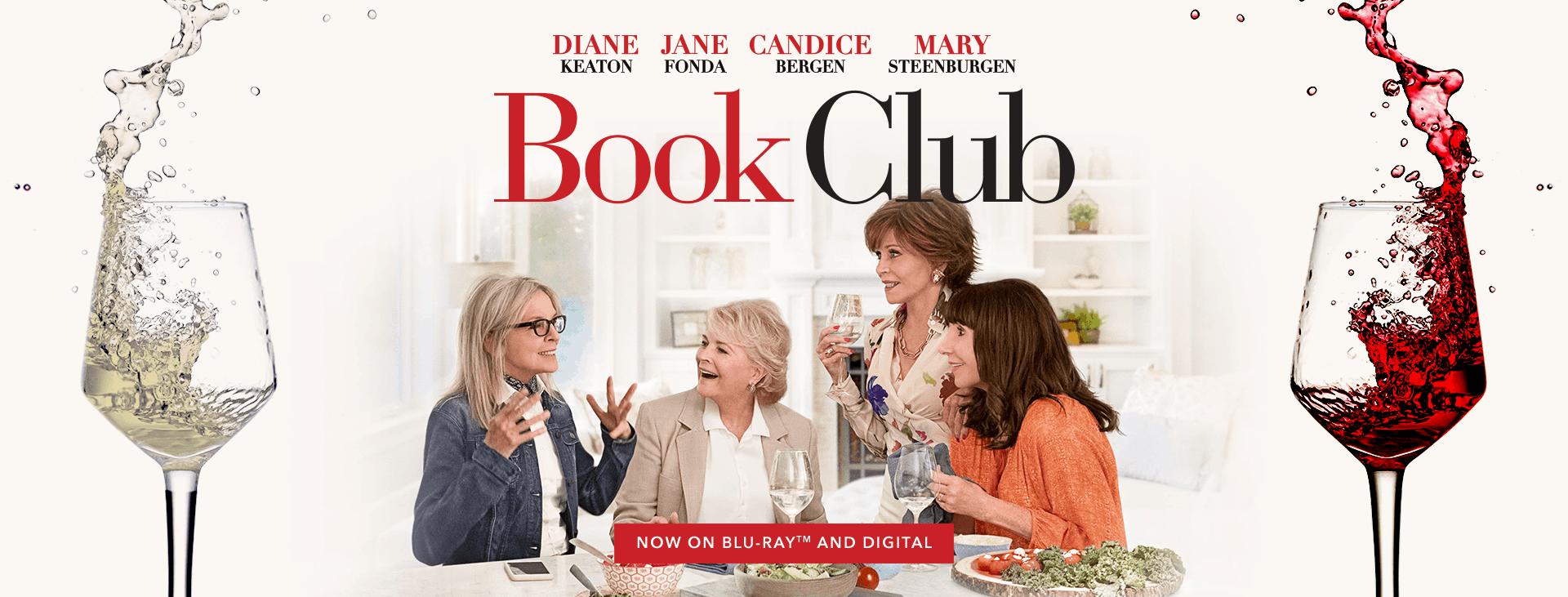 Book Club - Banner - Blu-Ray