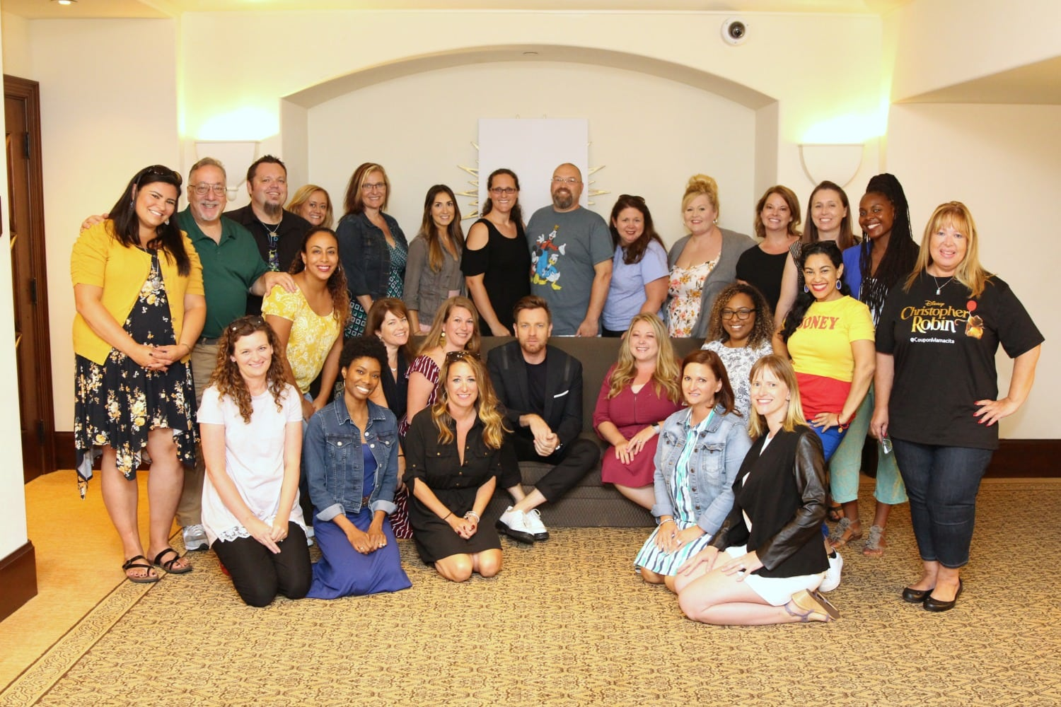 Ewan McGregor and Blogger Group