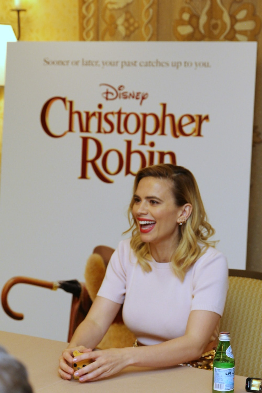 Hayley Atwell Christopher Robin Interview