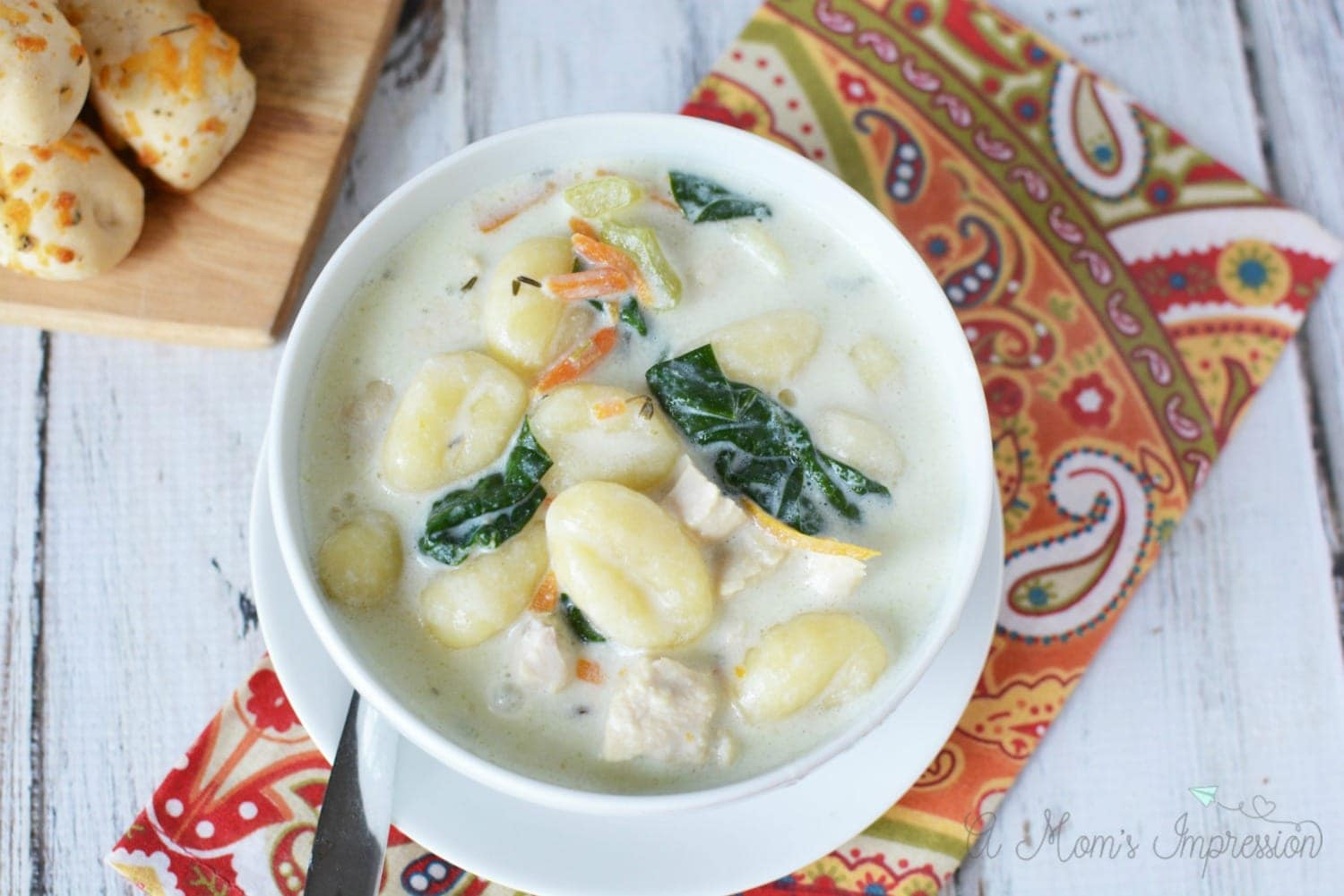 Instant Pot Olive Garden Chicken Gnocchi Soup A Mom 39 S Impression