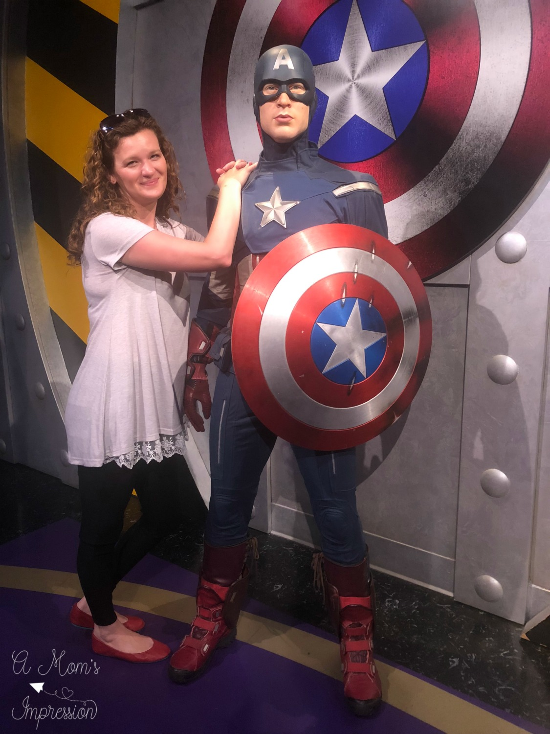 Me and Captain America