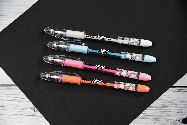 Milky Pentel Pens