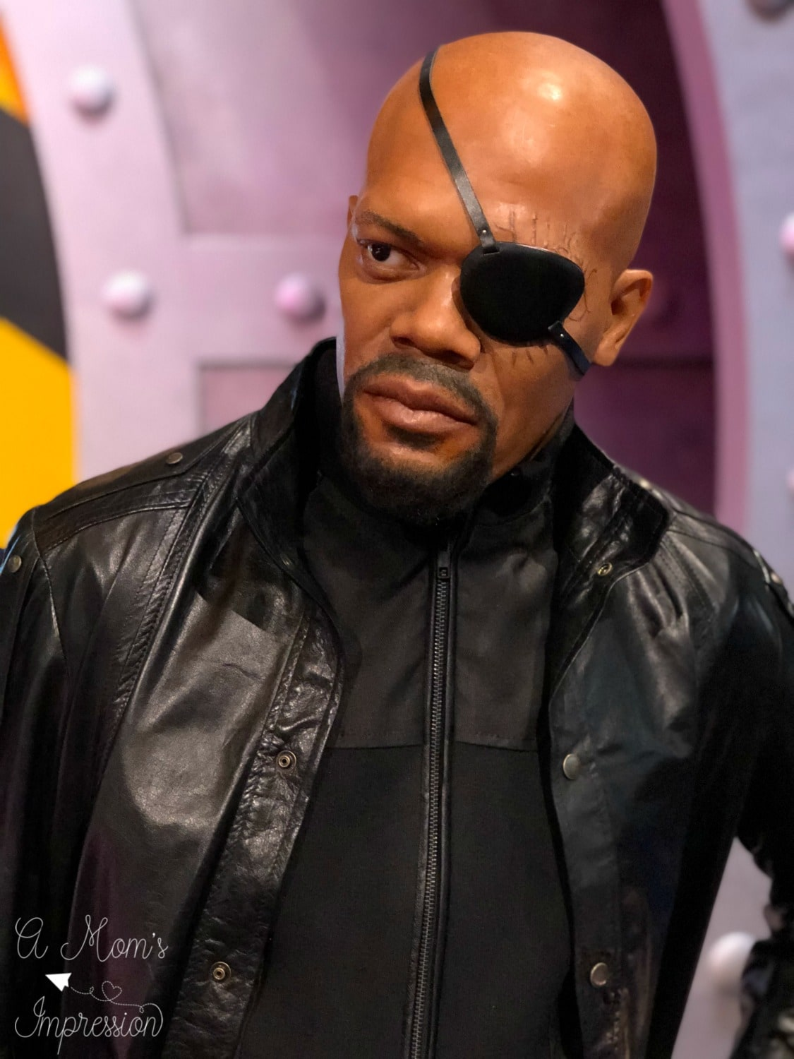 Nick Fury Wax Figure
