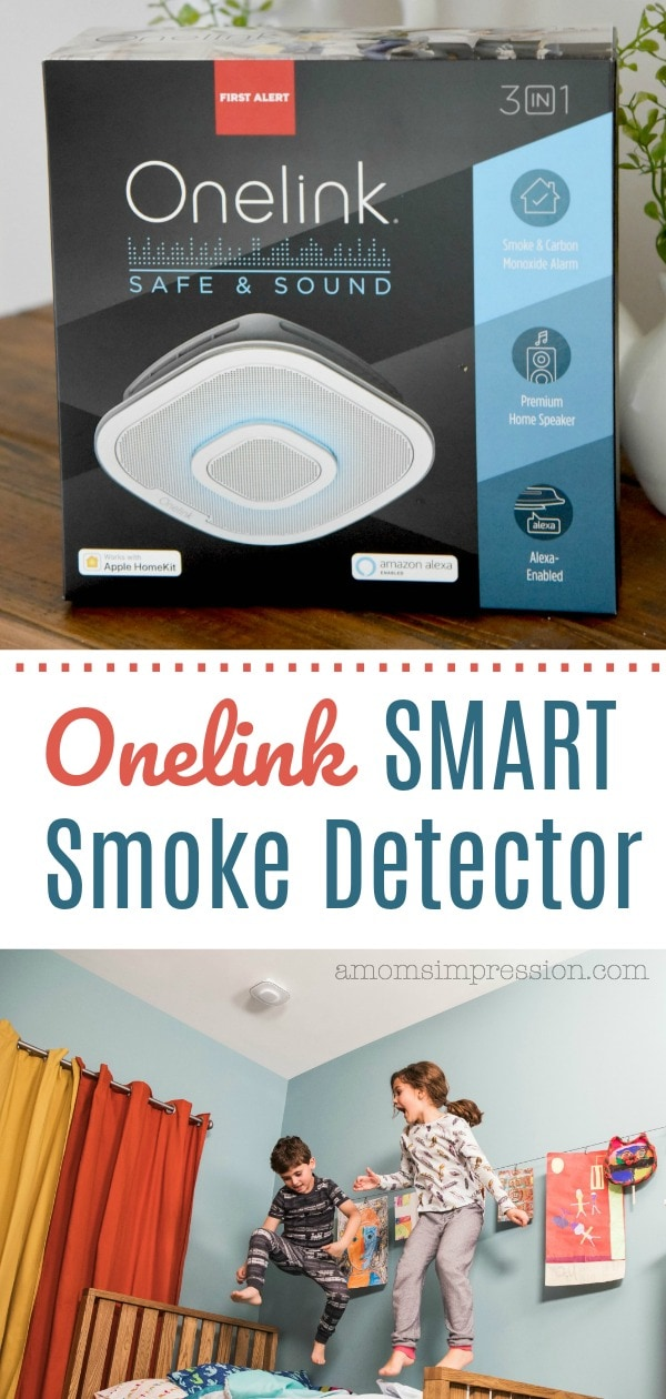 Onelink smart smoke detector pin