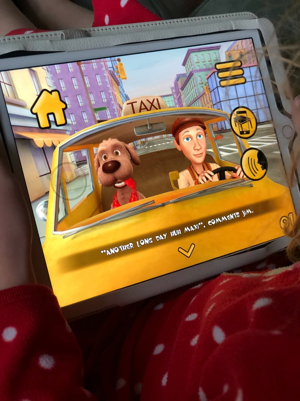maxi the taxi reading app