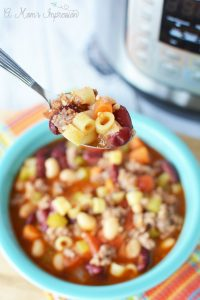 Instant Pot Olive Garden Pasta Fagioli Recipe (Copycat Recipe)