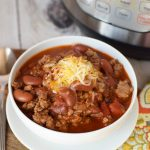 Blue Ribbon Instant Pot Chili Recipe