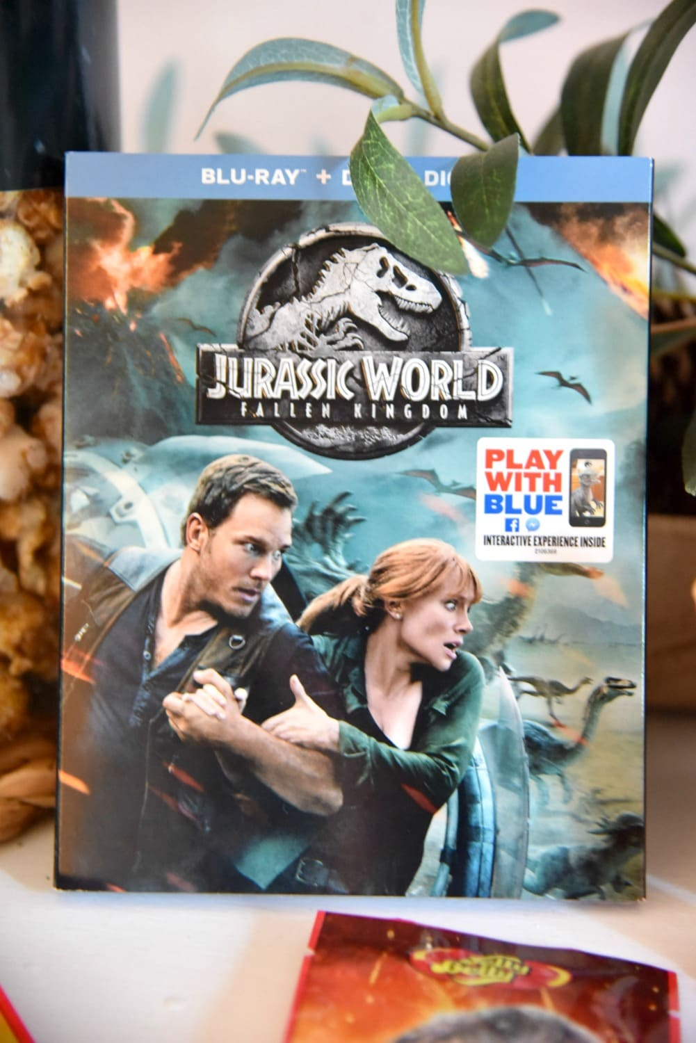 DVD Jurassic world