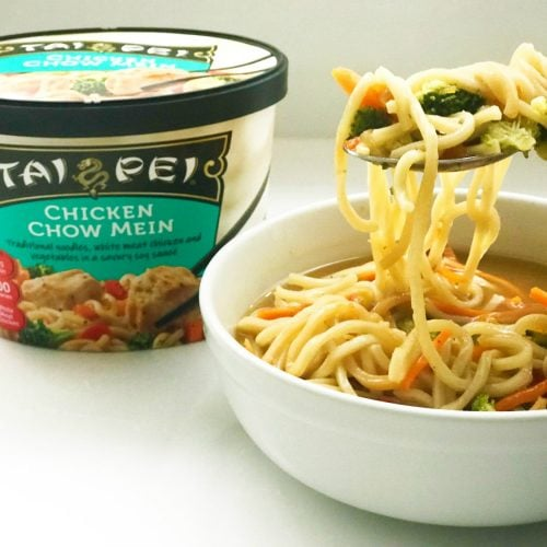Instant Chicken Chow Mein Noodles Soup-1