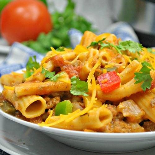 Instant Pot mexcian pasta