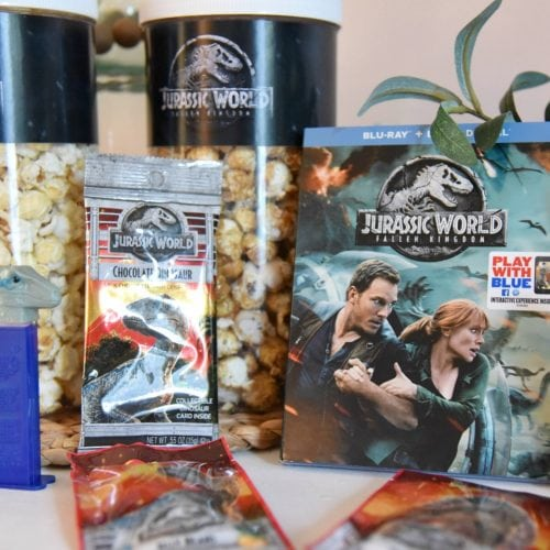 Jurassic world viewing snacks