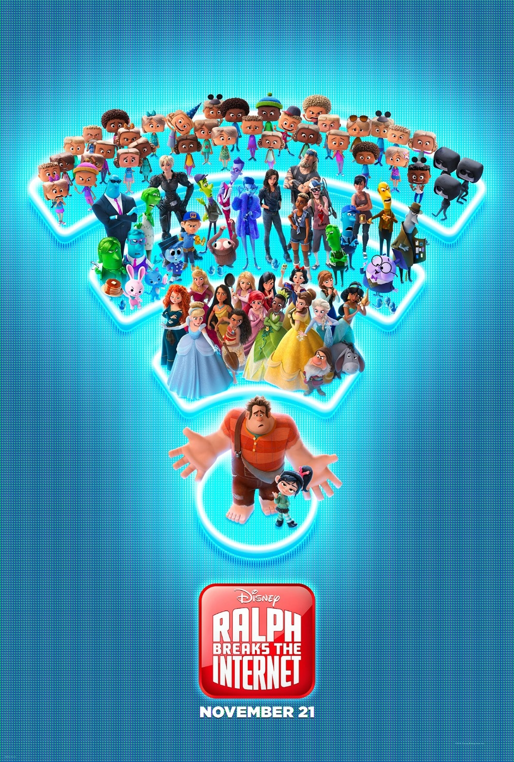 New Ralph Breaks the Internet Poster