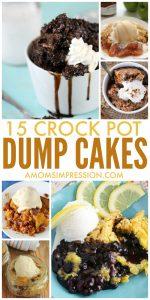 15 Delicious Crock Pot Dump Cake Recipes