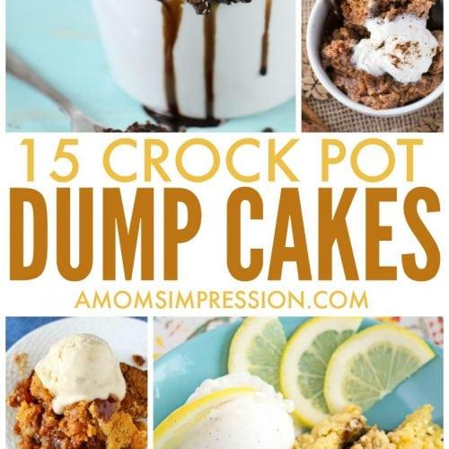 crock pot dump cakes