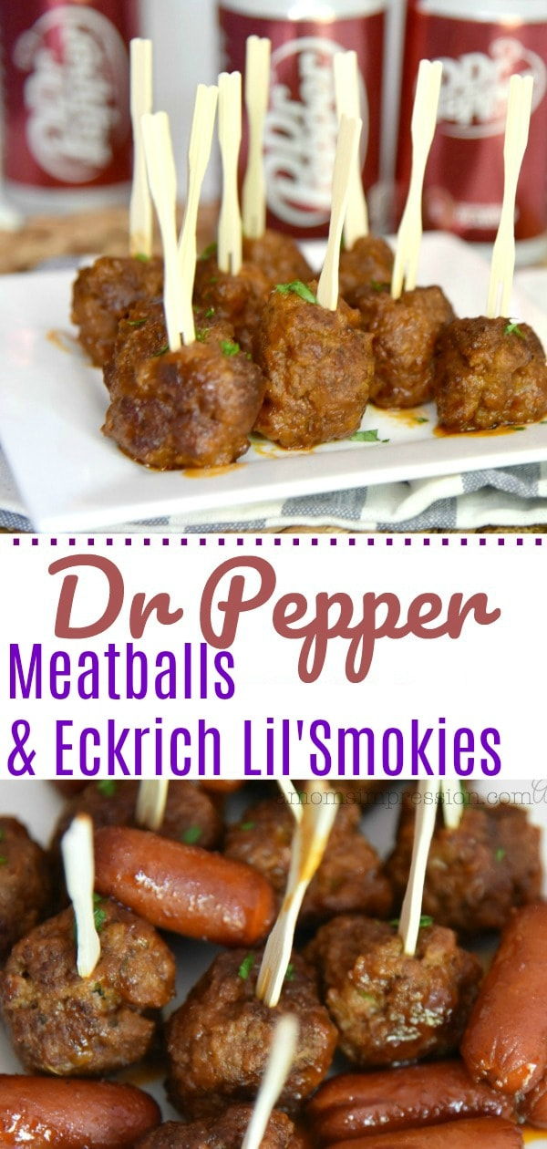 dr pepper meatballs