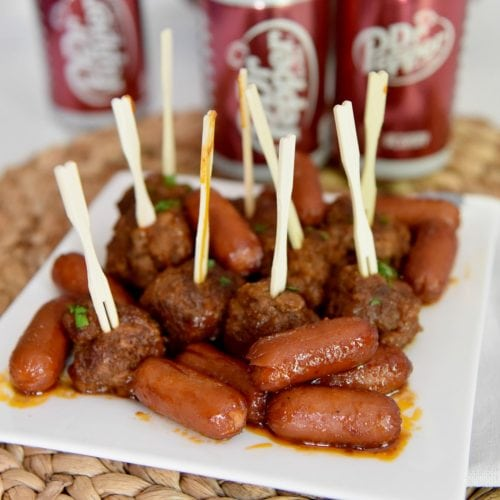 dr pepper sausages