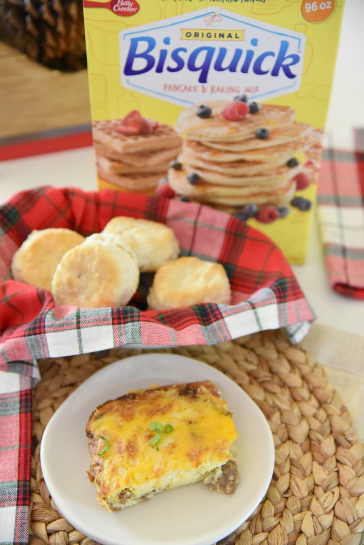 Bisquick Breakfast Casserole