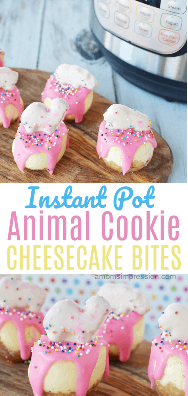 IP Animal cookie cheesecake bites